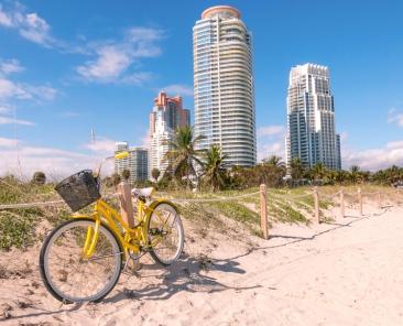 Landascape from Miami Beach