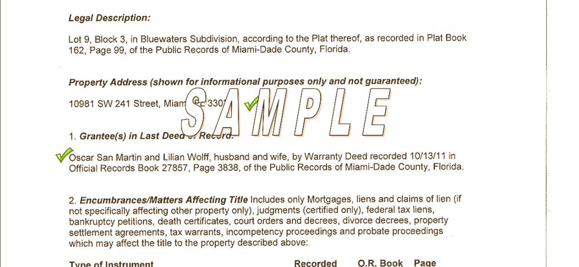 how to get a warranty deed in florida